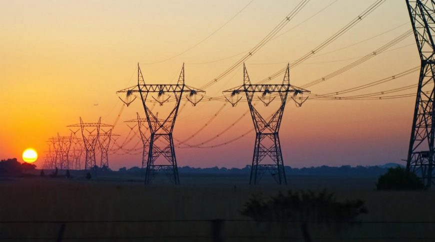 Powering transmission towers